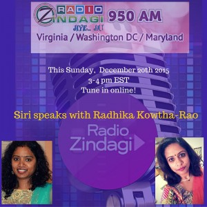 Radio Zindagi Rads Interview published