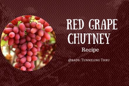 Red Grape Chutney Recipe