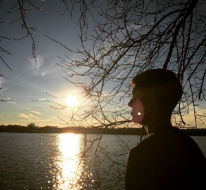 #DC #Sunset #son #Silhouette