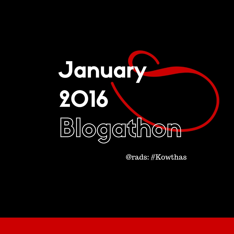 January Blogathon kowthas