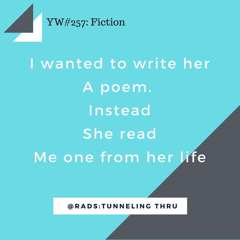 yeah write #257 fiction writing challenge