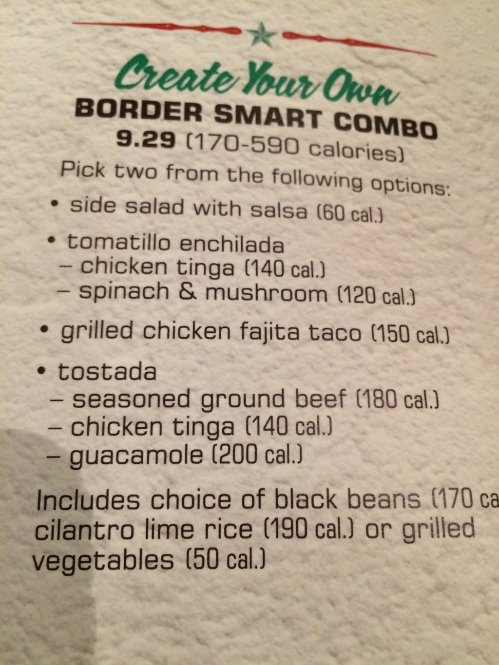 On The Border: Border Smart Combo Keto Low Carb