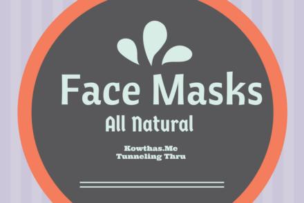 Face Pack Masks Tunneling Thru Kowthas.me