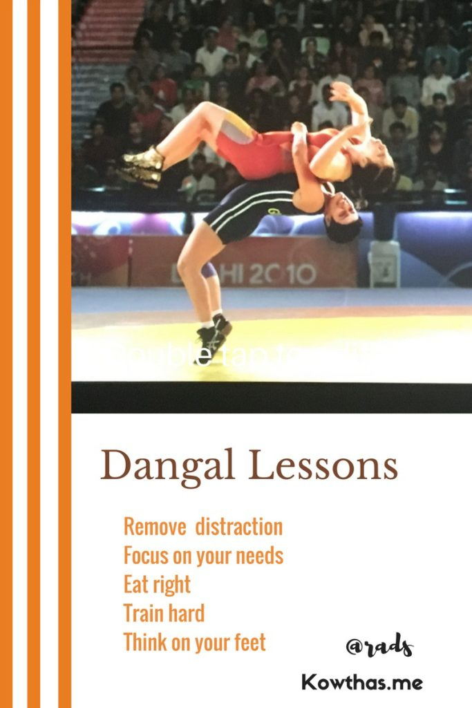 Dangal Lessons rads tunneling Thru goals