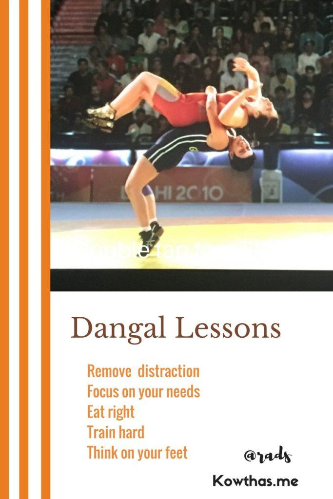 Dangal Lessons rads tunneling Thru goals