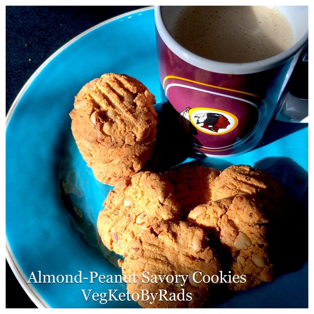 savory-almond-peanut-cookies. rads keto low carb