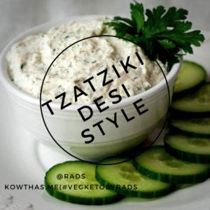 Tzatziki, desi style, indian style. kowthas tunnelingthru keto