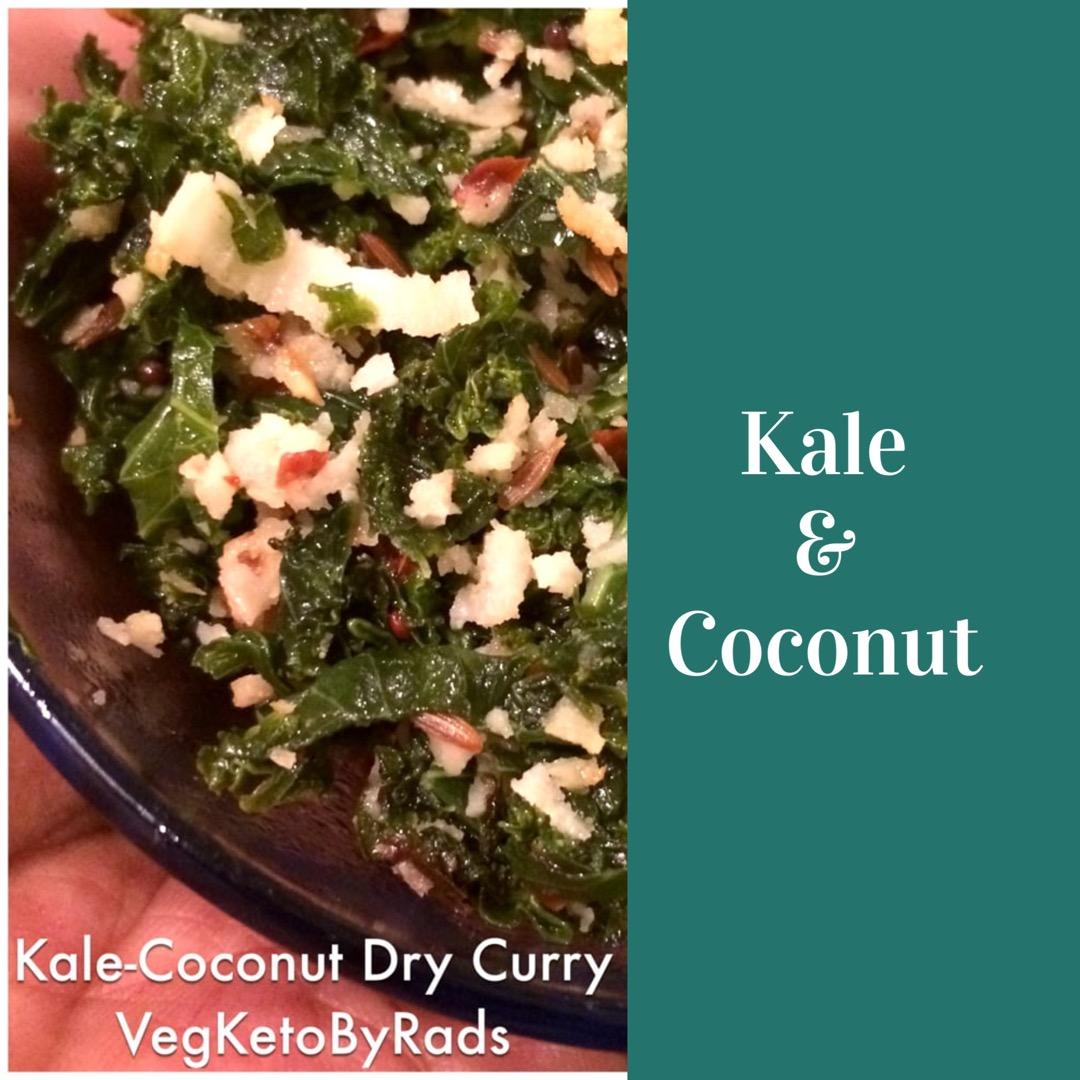 kale coconut dry curry rads kowthas.me tunnelingthru keto low carb