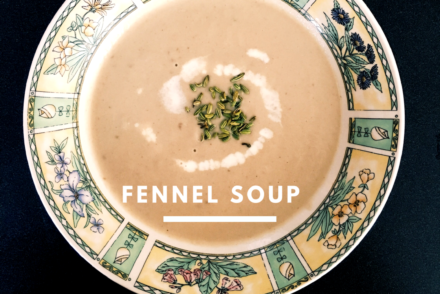 Flavorous Fennel soup #Vegketobyrads