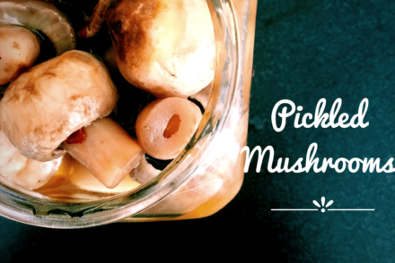 Pickled Mushrooms #VegKetoByRads