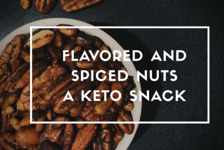 Spiced Nuts. #Vegketobyrads