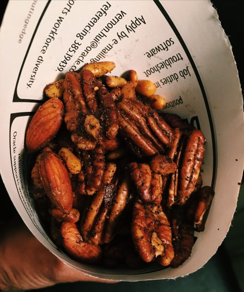 Spiced nuts #vegketobyrads #mexican