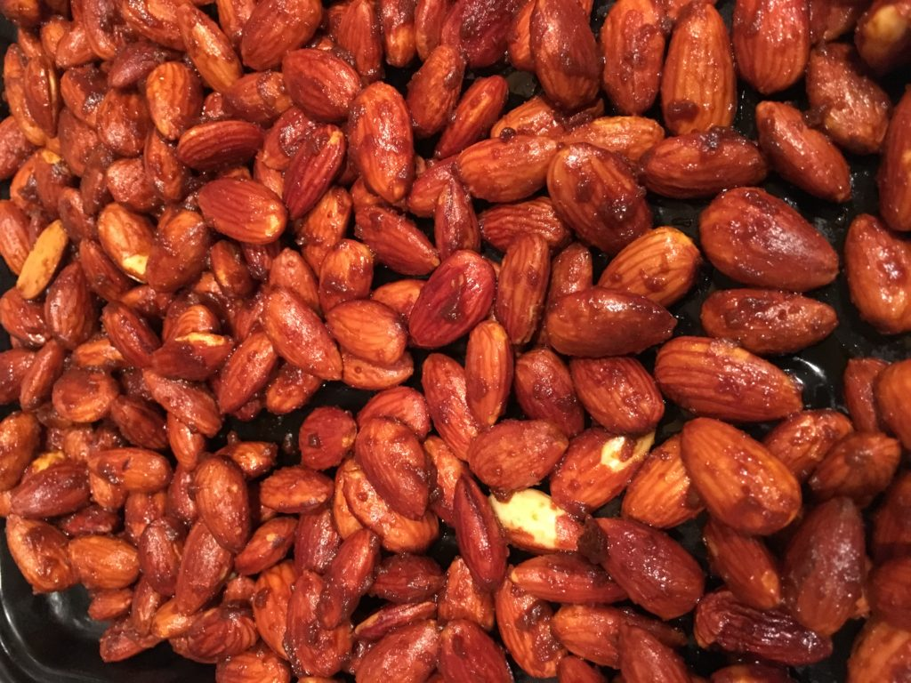 Spiced nuts #vegketobyrads