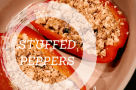 Stuffed Bell Peppers With Paneer #VegKetoByRads