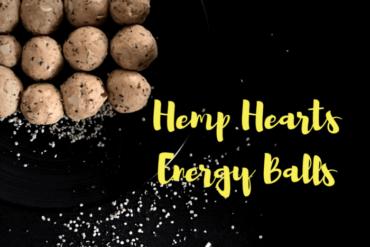 HEMP HEARTS energy balls #vegketobyrads