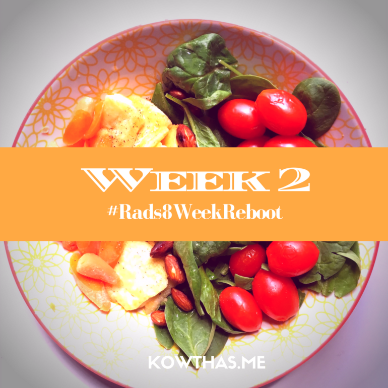 Week 2 and the beginning of easing into the 8 week summer solstice reboot - a mindful way of taking care of ourselves and our body