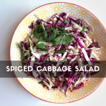 Cabbage Salad is a perfect Keto/Low Carb one bowl meal. Spice it with Indian spices and it takes the taste up a notch. Recipe included.
