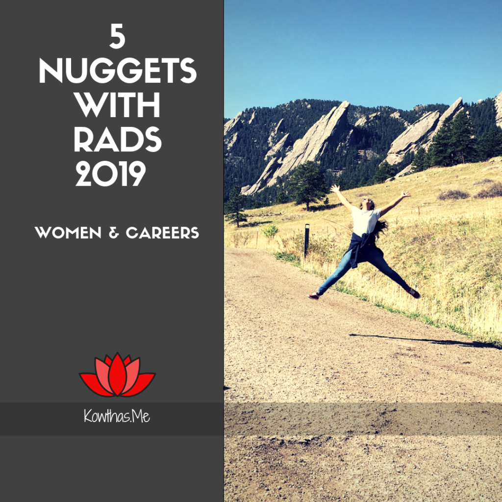 2019 5 nuggest with rads - women and career