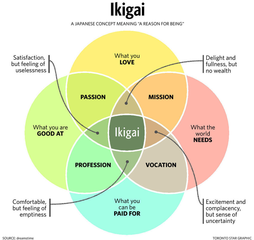 Ikigai, japanese way of life review rads goodreads lifestyle blogger