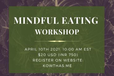 Mindful Eating Workshop